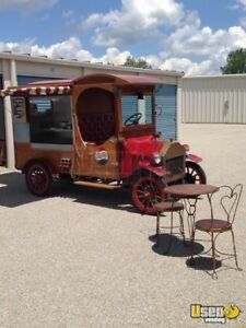 Vintage 1915 Model T Ford Concession Food Truck For Sale In Ohio