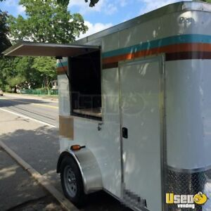 2016 5 X 8 Coffee Concession Trailer For Sale In Massachusetts