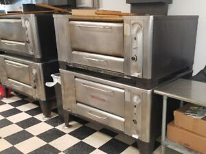 Blodgett Gas Stone Deck Pizza Ovens Model 1000