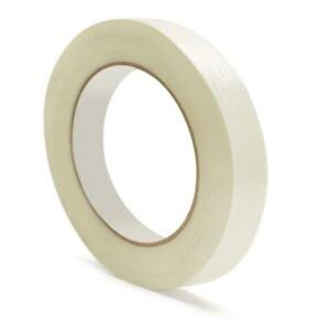 Filament Fiberglass Reinforced Packing Tape 3 8 X 60 Yard 3 9 Mil 864 Rolls