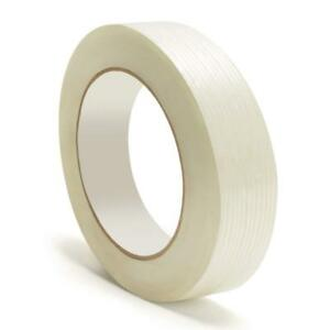 Filament Fiberglass Reinforced Packing Tape 3 4 X 60 Yard 3 9 Mil 432 Rolls