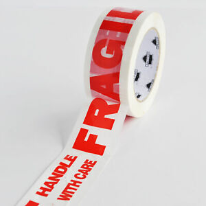 Fragile Handle With Care Printed Packing Tape 2 X 110 Yards 2 Mil 1620 Rolls