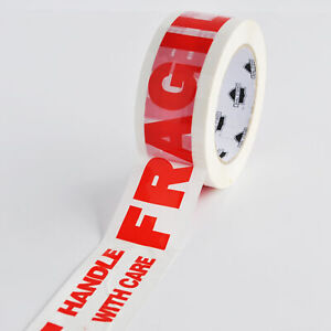 Fragile Packing Tape 2 X 110 Yd 2 Mil Handle With Care Shipping Tapes 360 Rolls