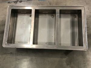 3 Bay Drop In Electric Steam Table Food Warmer