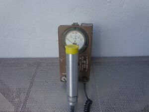 Thyac Ii Radiation Survey Meter 489