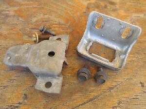 1966 Mercury Comet Trunk Latch Catch Good Working Condition Free Shipping