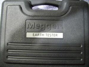Megger Det3tc 3 terminal Digial Ground Tester