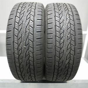 255 55r20 Continental Crosscontact Lx20 Ecoplus 107h Tire 10 32nd Set Of 2
