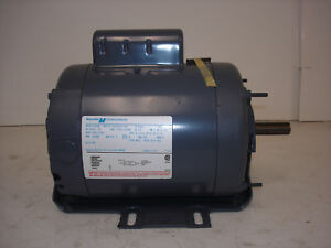 Magnetek Ac Motor C448 8 165487 02 3 4hp 1725 1140rpm 208 230v 1ph