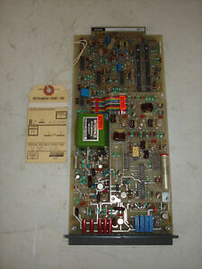 Foxboro Analog Control Circuit Board Model 2dc kr St D