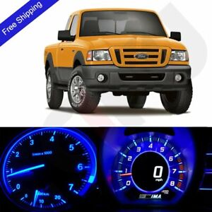 Blue Led Dash Cluster Instrument Panel Lighting Kit Fits 2004 2011 Ford Ranger