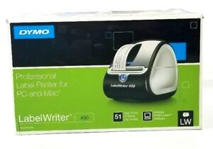 Dymo Labelwriter 450 Thermal Label Printer Usb Cable Box Address Labels