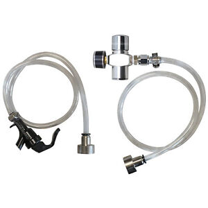 Commercial Keg Dispense Kit Tap Party Pump Mini Co2 Regulator Tank System Sankey