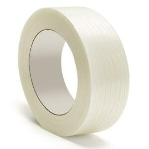 Filament Strapping Tape 3 9 Mil 1 X 60 Yds Reinforced Packing Tapes 180 Rolls