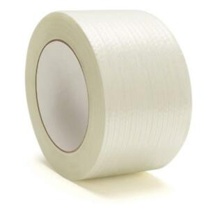 Filament Strapping Tape 3 9 Mil 2 X 60 Yds Reinforced Packing Tapes 120 Rolls