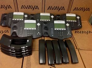 Lot Of 5 Polycom Soundpoint Ip 650 Ip650 2201 12630 001 Phone W Stand Handset