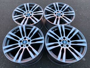Genuine Mercedes Amg 17 Staggered Rims Clk Slk Restored To Showroom Condition