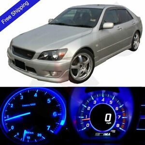 Blue Led Dash Gague Cluster Instrument Lighting Kit Fits 2001 2005 Lexus Is300
