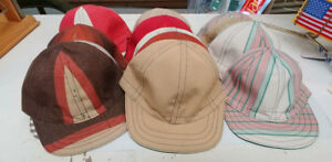 Vintage Landrys Welding Caps Unworn Surplus Stock Various Sizes Colors Lot Of 13