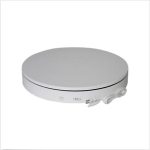30cm 360 Degree Rotating Display Stand Turntable For 3d Jewelry Photography 220v