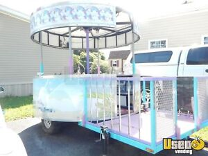 2014 8 5 Food Concession Trailer With Porch For Sale In Pennsylvania