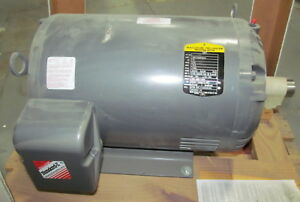 Baldor Standard e 15 Hp Motor 575v 3 Phase 1760 Rpm 39d102w828h2 New Surplus