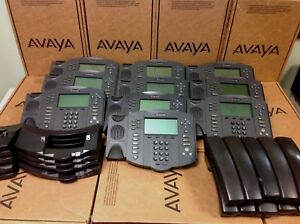 Lot Of 10 Polycom Soundpoint Ip 601 Ip601 2201 11601 001 Phone W Stand Handset