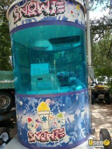 2012 5 X 8 Shaved Ice Concession Trailer For Sale In Florida