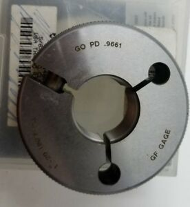 Go Ring Gage 5 8 18 Unf 2a Adjustable Vermont Gage 361148010