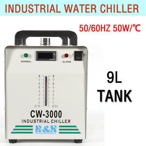 Industrial Water Chiller For 60 80w Cnc Laser Engraver Machine 47 27 37cm