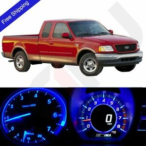 Blue Led Dash Gague Cluster Instrument Lighting Kit Fits 2004 2008 Ford F 150