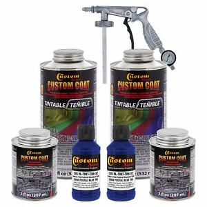 Bed Liner Custom Coat Ultramarine 2l Urethane Spray On Truck Kit