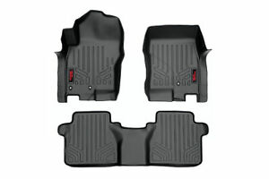 Rough Country Floor Mats Fit 2008 2019 Nissan Frontier Crew Cab Weather Li