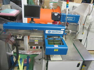 Exatron 902 Laser Marker Engraver Etcher Pick And Place Test Handler Nice