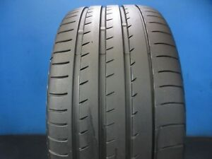 Used Yokohama Advan Sport V105 N 2 Suv 295 35 21 9 10 32 Tread No Patch 1008f