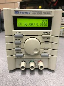 Instek Pss 3203 32v 3a Programable Power Supply Used Tested Ships Free