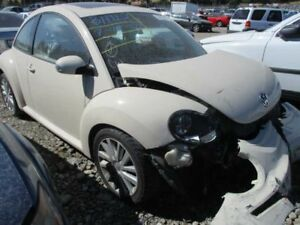 Rear View Mirror With Digital Clock Fits 06 10 Beetle 4820257