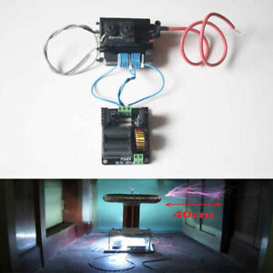 12v 36v Zvs Tesla Coil Flyback Driver marx Generator jacob Ladder ignition Coil