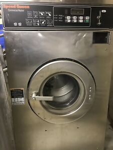 Speed Queen Washer 25lb Double Load Coin Laundry Laundromat