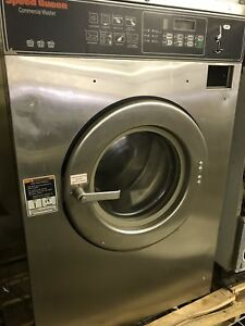 Speed Queen Washer 27lb Triple Load Coin Laundry Laundromat