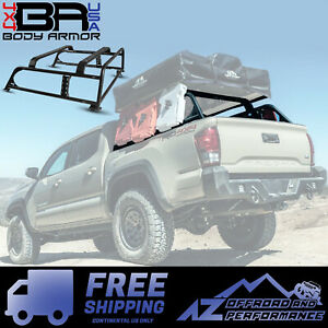 Body Armor 4x4 Overland Bed Rack For 2016 2021 Toyota Tacoma Tc 6125