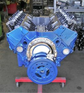 400 Hp 383 Chevy Stroker Engine Motor New Cast Iron High Flow Heads Rc