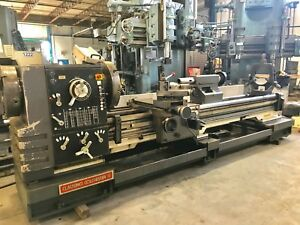 30 x120 cc Clausing Colchester Engine Lathe 1990 Taper In mm 6 75 Hole Dro