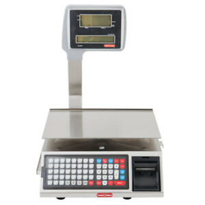 Torrey W label 40 Lb Wi fi Price Computing Scale With Label Printer