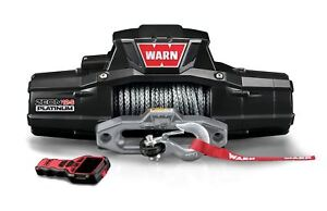 Warn Zeon 12 Platinum Series Winch 12 000 Lbs Synthetic Rope Truck Jeep Suv