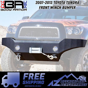Body Armor 4x4 2007 2013 Toyota Tundra Front Winch Bumper Free Shipping