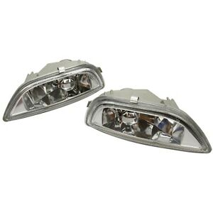 For 2001 2002 Toyota Corolla Front Bumper Driving Fog Lights Lamps 8122002030