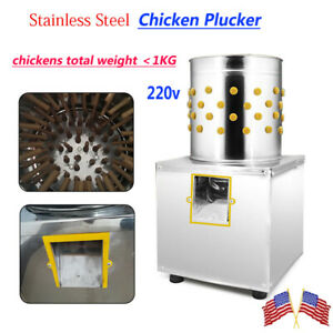 Chicken Plucker Plucking Machine Poultry De feather Machine Poultry Duck Quail