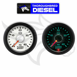 Isspro Ev2 Turbo Boost Gauge 0 40 Psi R14333