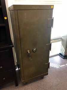 Antique Mosler Safe With Yale Dial Combination Lock Unknown Combination